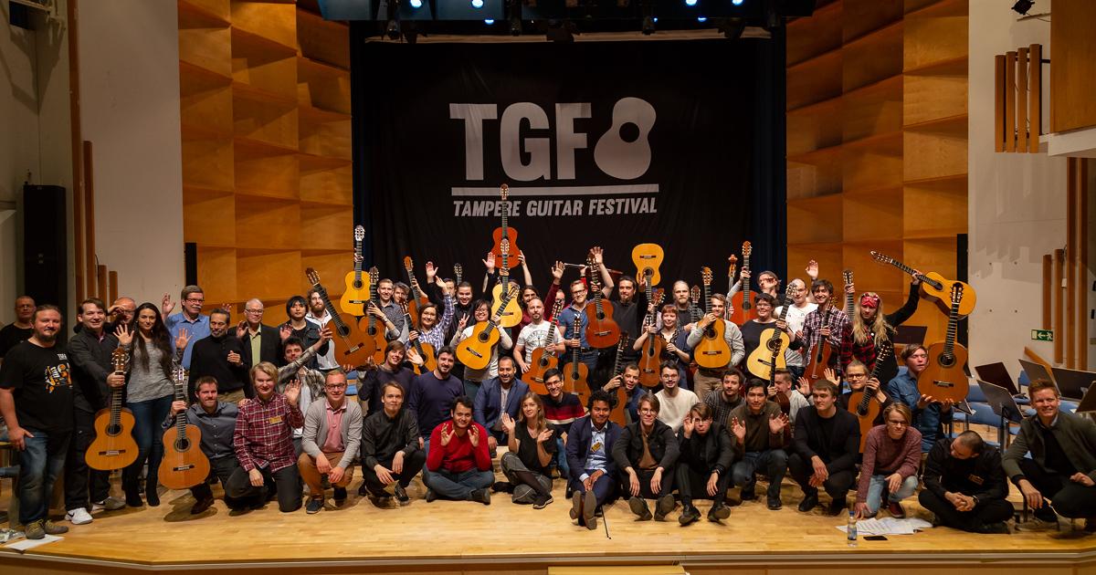 Tampere Guitar Festival 2018, photo: Antti Kulmanen