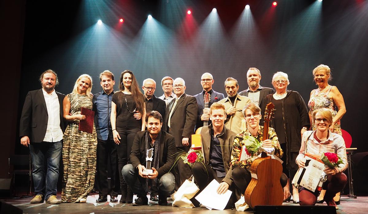 Suomen kitarakilpailun 2018 palkintojenjako Tampere-talossa, photo: Viivi Vanamo